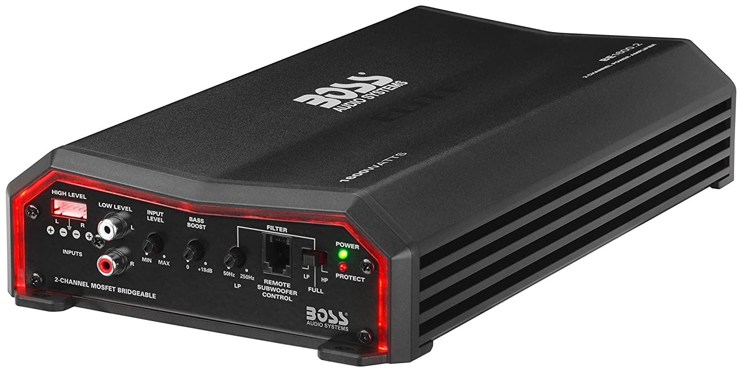 Great For Subwoofers 1500 Watts Class AB 2 4 Ohm Stable BOSS Audio Systems Elite BE1500.1 Monoblock Car Amplifier Mosfet Power Supply