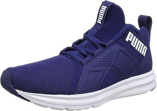 chaussure puma bleu homme