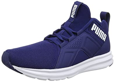 Puma Enzo Mesh, Chaussures Multisport Outdoor Homme, Bleu (Blue Depths-White), 44.5 EU