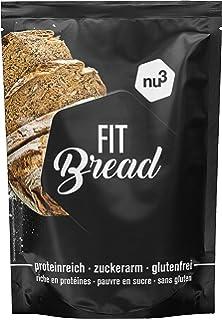 nu3 Fit Bread | 230g de harina para pan integral con proteína | 15 veces menos
