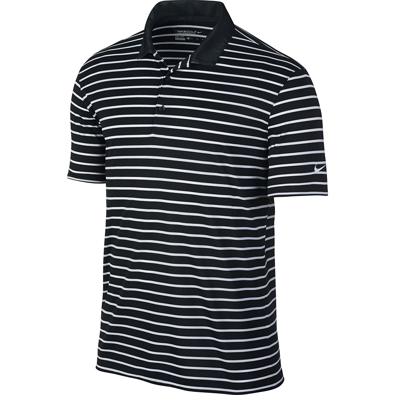 5afe844f1 Dri-Fit technology. Ultimate stretch and moisture management 3-button  placket. Improved fit and construction. The Icon Stripe Polo from Nike ...