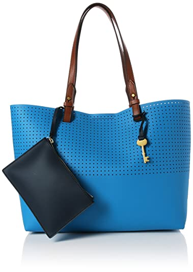 Blu Damentasche Borse Tote Rachel Donna Shopper Fossil dCq1ww