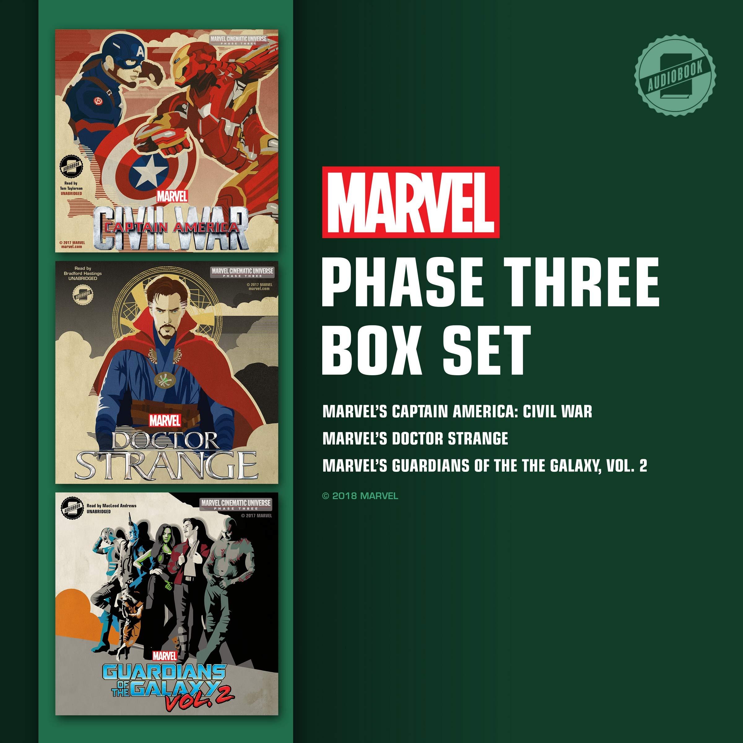 Amazon com: Marvel's Phase Three Box Set: Phase Three
