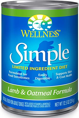 Wellness Simple Natural Limited Ingredient Lamb and Oatmeal Wet Dog Food
