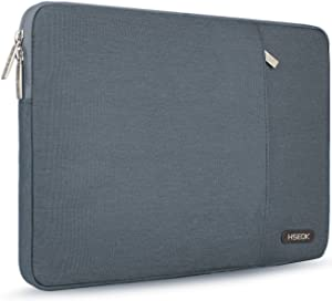 HSEOK 15.6-Inch Laptop Case Sleeve, Environmental-Friendly Spill-Resistant Case for 15.4-Inch MacBook Pro 2012 A1286, MacBook Pro Retina 2012-2015 A1398 and Most 15.6-Inch Laptop, Dark Gray