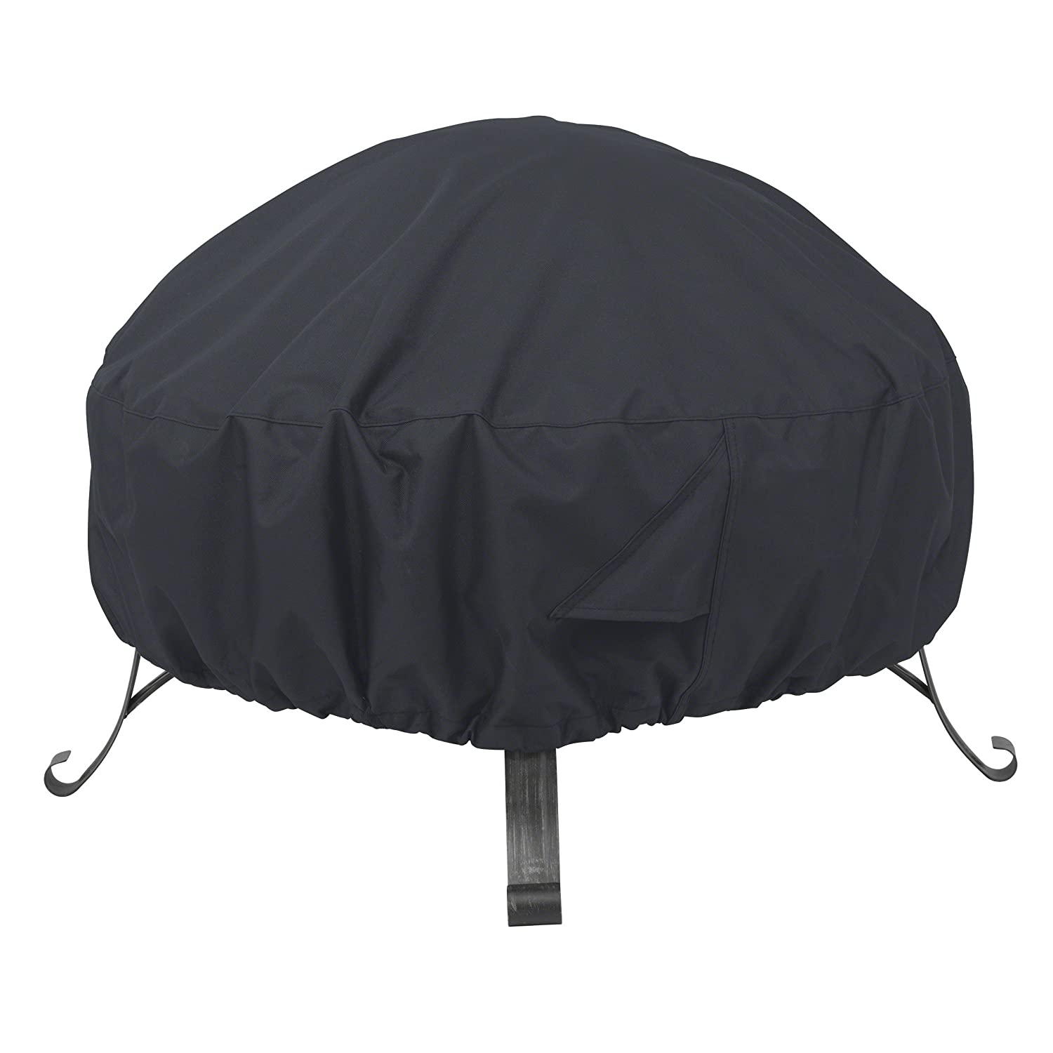 "AmazonBasics Round Patio Fire Pit Cover - 60"", Black"