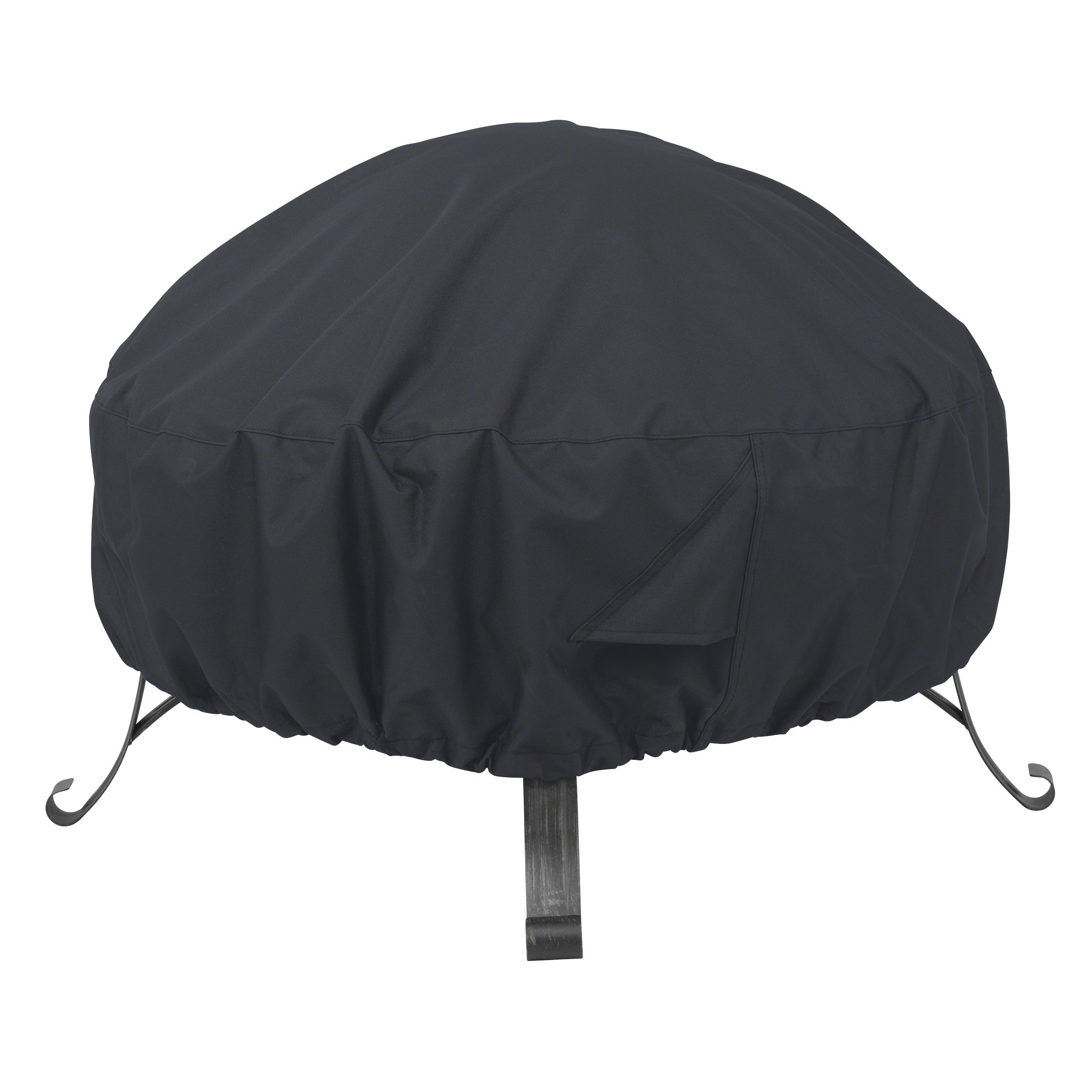 AmazonBasics Round Patio Fire Pit Cover - 60'', Black by AmazonBasics