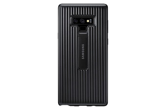 sports shoes fb832 28656 Samsung Galaxy Note9 Case, Rugged Military Grade Protective Cover with  Kickstand, Black - EF-RN960CBEGUS