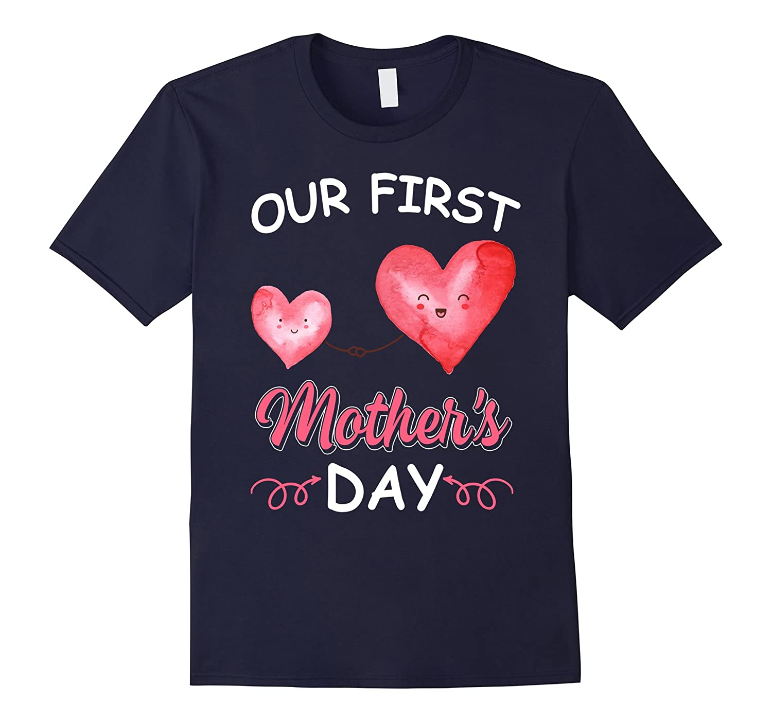 Our first Mothers Day Funny Family Tshirt for MotherWomen-CD