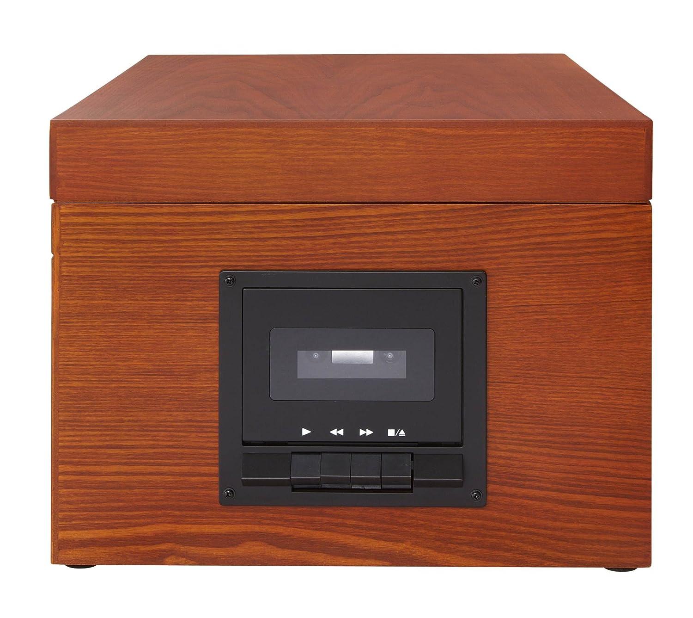 Amazon.com: Crosley cr6001 a-bk archiver Turntable con ...
