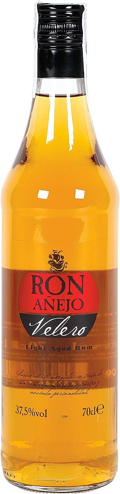 VELERO ron añejo botella 70 cl: Amazon.es: Alimentación y ...