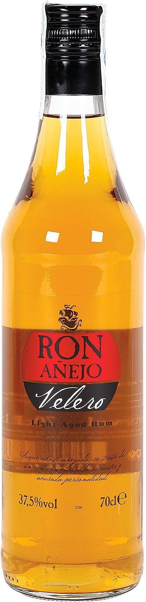 VELERO ron añejo botella 70 cl: Amazon.es: Alimentación y bebidas