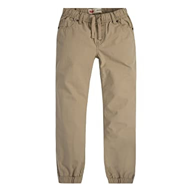 a068d119 Amazon.com: Levi's Big Boys' Ripstop Jogger, True Chino, Large: Clothing