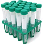 SPL 15 ml Conical Centrifuge Tubes Sterilized with PP Racks, (Rack of 25) Non - pyrogenic, Non - cytotoxic, DNase / RNase - free, Human DNA - free