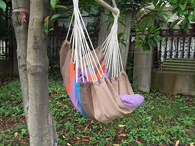 Hammock Swing Chair 48 Inches Hanging Rope Chair Porch