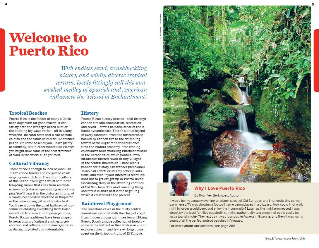 Lonely Planet Puerto Rico (Travel Guide): Lonely Planet, Ryan Ver Berkmoes,  Luke Waterson: 9781742204451: Amazon.com: Books