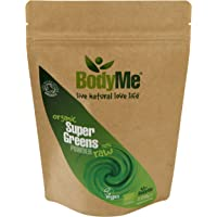 BodyMe Organic Super Greens Powder Mix 250g Soil Association and Vegan Society
