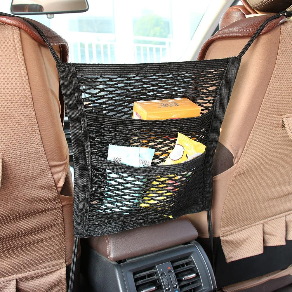 Cargo Net Pets Net Barrier Universal Car Seat Storage Mesh//Organizer Mesh Cargo Net Hook Pouch Holder For Phone Pets Purse Bag Children Kids Disturb Stopper