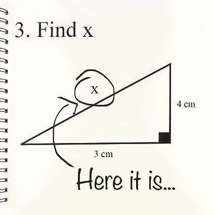 amazon com 3drose db 107310 2 find x here it is math humor school