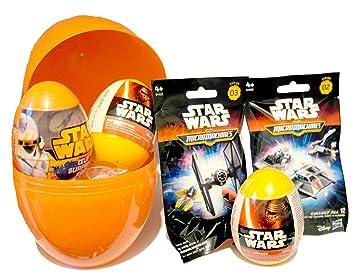 Kit de regalo de cumpleaños para niños: huevo sorpresa gigante con diseño de Star Wars