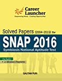 SNAP Solved Papers 2004 -2015 Includes Full Length Model Papers