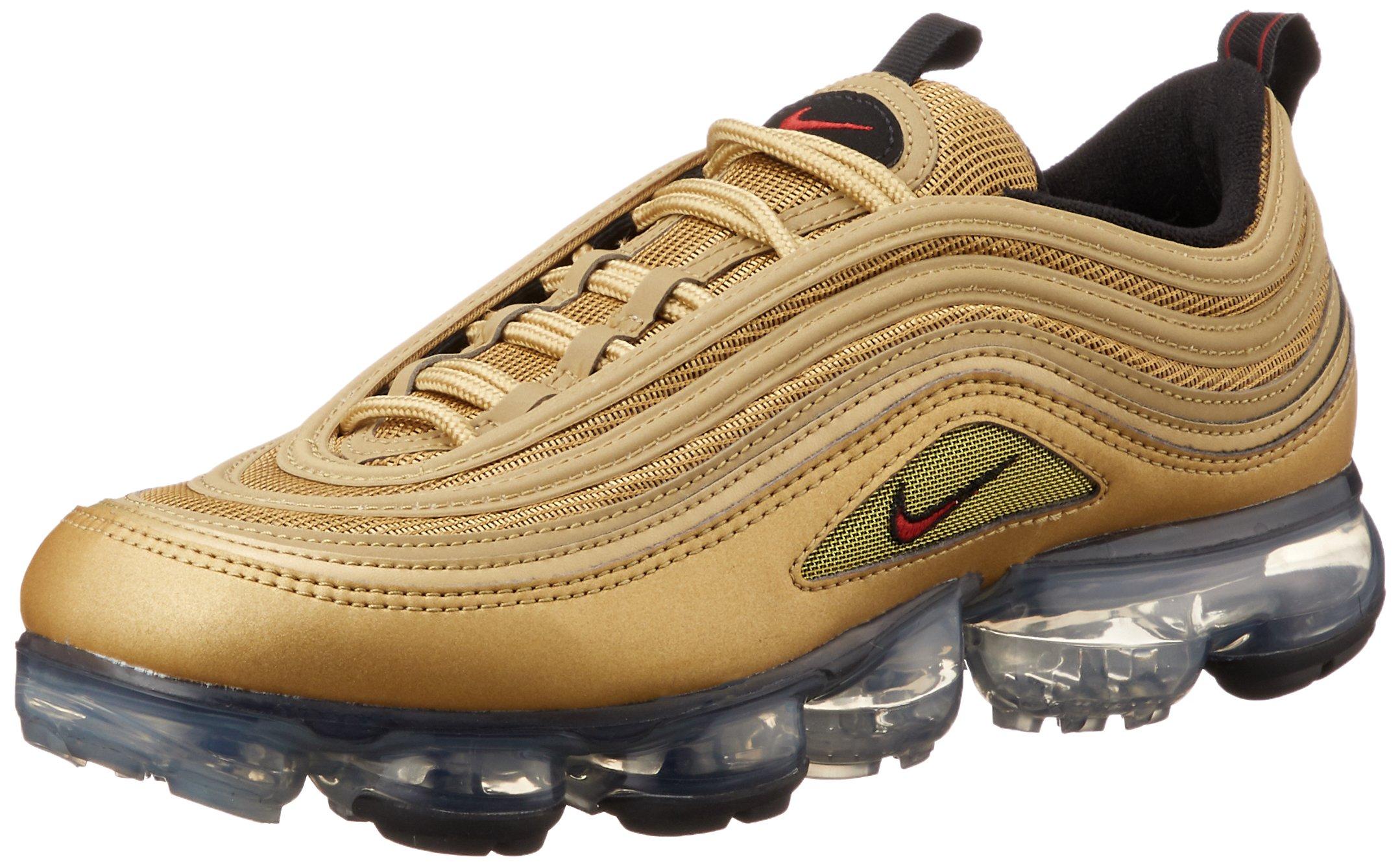 best service 9aba1 36657 Nike Air Vapormax '97 Men's Shoes Metallic Gold/Varsity Red aj7291-700 (11  D(M) US)