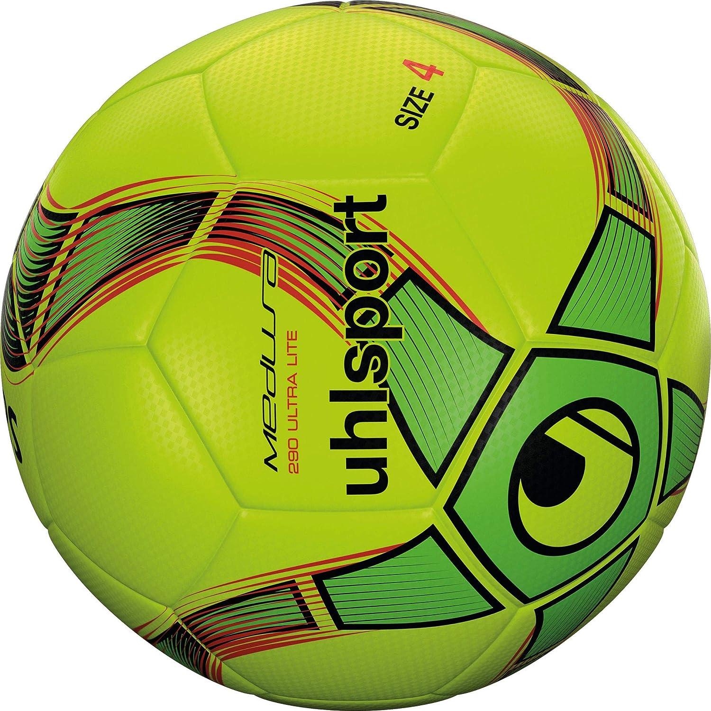 Uhlsport Medusa ANTEO 290 Ultra Lite Balón fútbol, Juventud Unisex ...