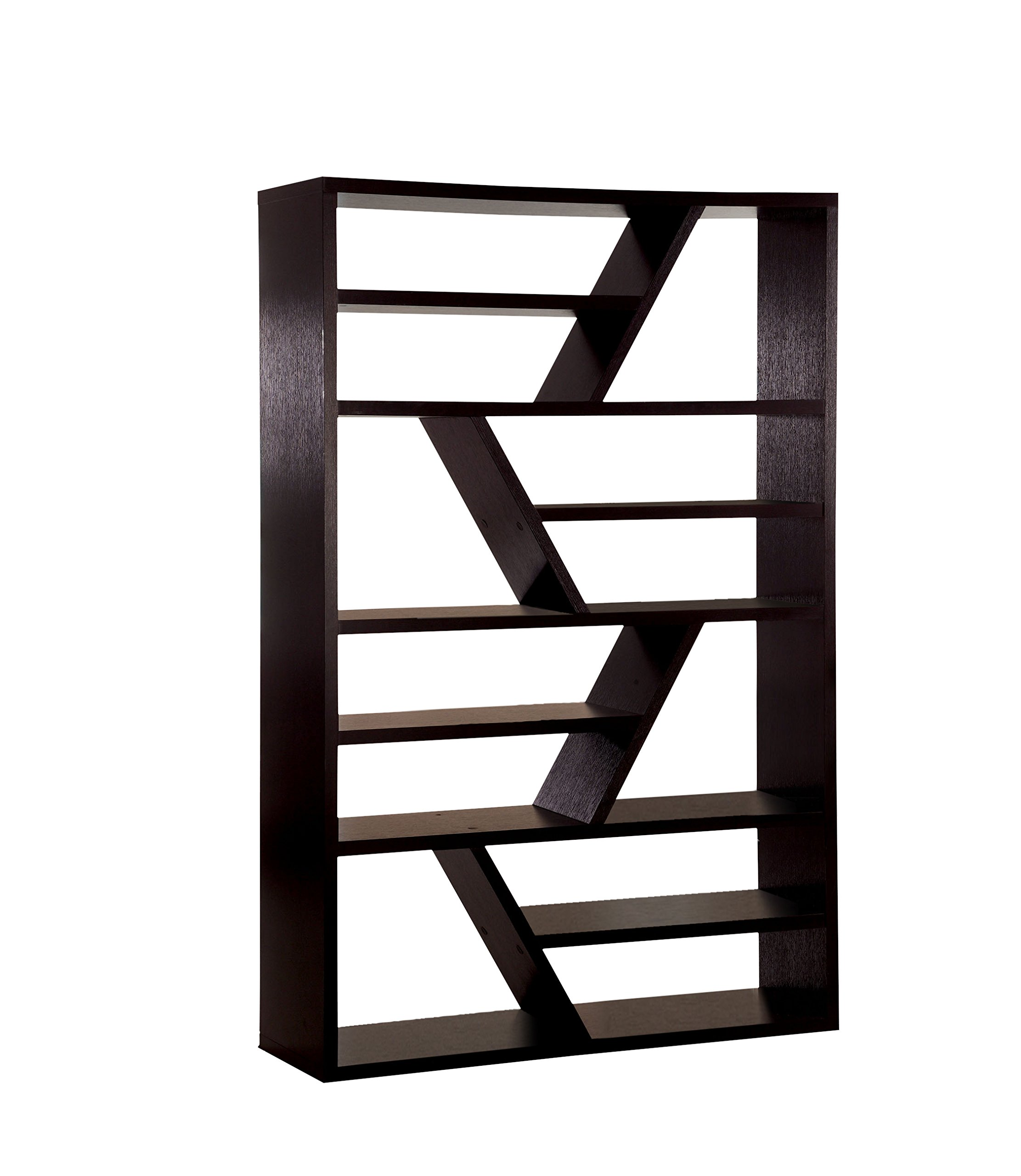 Furniture of America Zakari Modern Display Case, Espresso by Furniture of America