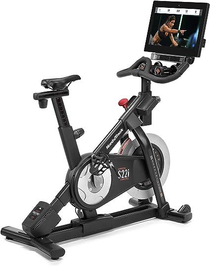 Ciclo de estudio comercial NordicTrack (S15i y S22i) incluye 1 año de membresía iFit - NTEX02117NB, Bicicleta Commercial S22i Studio, Negro: Amazon.es: Deportes y aire libre