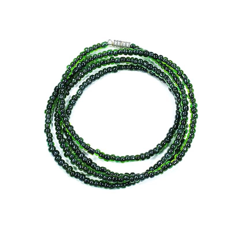 Opal Seahorse Green Waist Beads