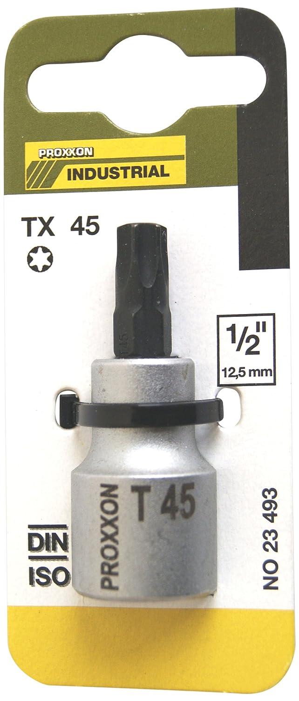55/mm Proxxon 23493/Douilles Torx 1//5,1/cm 12,5/mm T 45