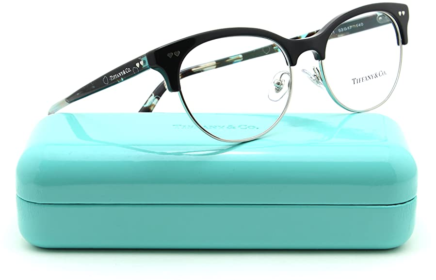 Amazon.com: Tiffany & Co. TF 2156 Women Oval Eyeglasses RX - able ...