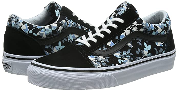 Vans Old Skool (Reverse Floral) Mens Skateboardschuhe Vn 03z6