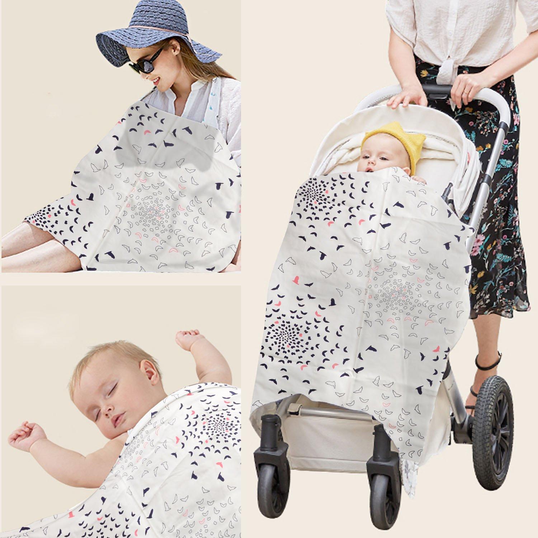 HB HOMEBOAT/® Mama Designs Mamascarf Stillschal Nursing Cover