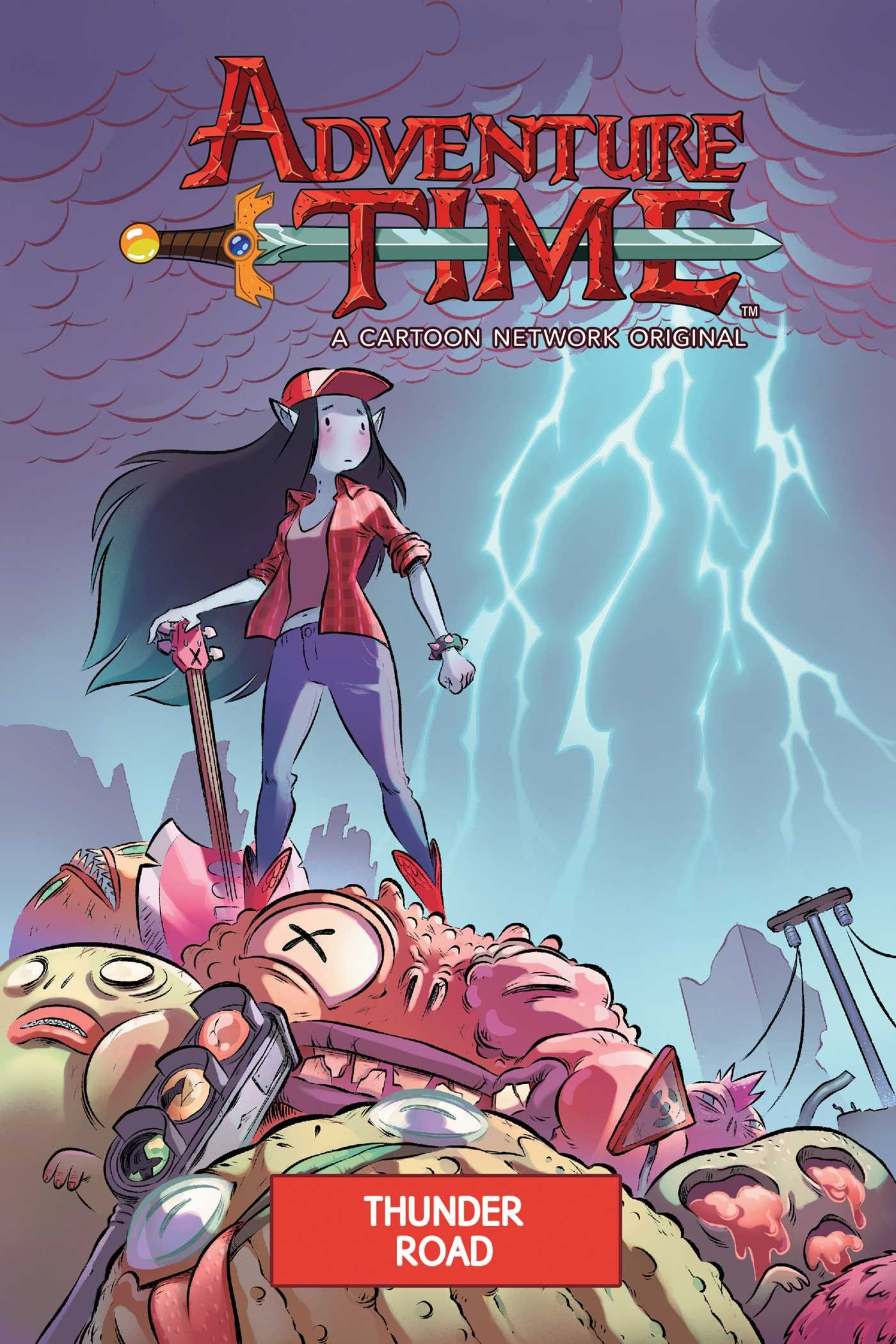 Adventure Time Original Graphic Novel Vol. 12: Thunder Road (Adventure Time (Kaboom!))