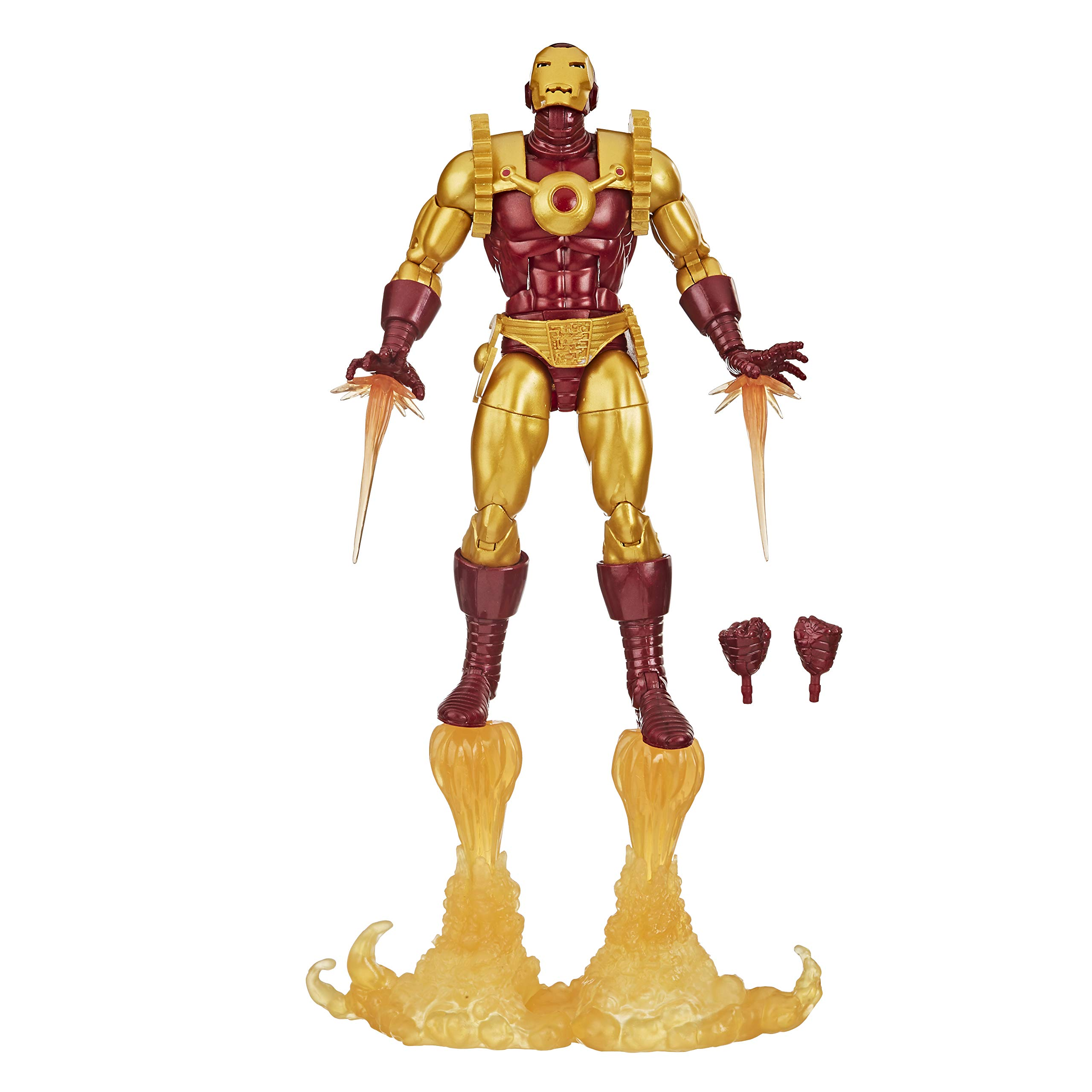 MARVEL Hasbro Legends Series Iron Man 6-inch Collectible Action Figure Iron Man 2020 Toy, Premium Design and 8 Accessories, Ages 4 And Up