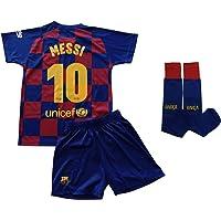 Champion's City Conjunto Completo Infantil - Messi - 10 - FC Barcelona Réplica Oficial Licenciado de la Primera…