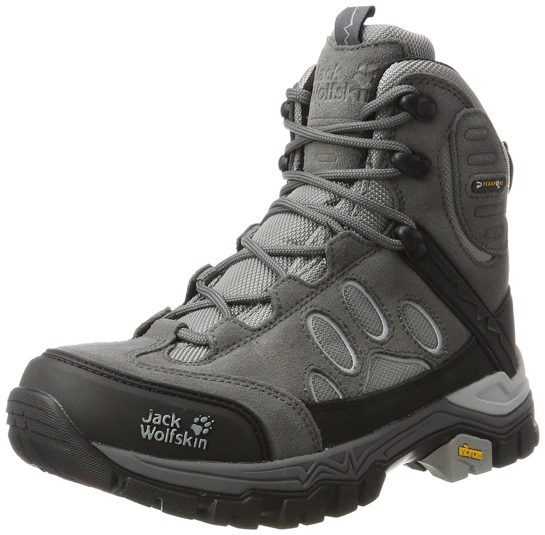 Jack Wolfskin Women's Impulse Texapore O2+ Mid W Hiking Boot B00TUQDRSM 8 D US|Tarmac Grey