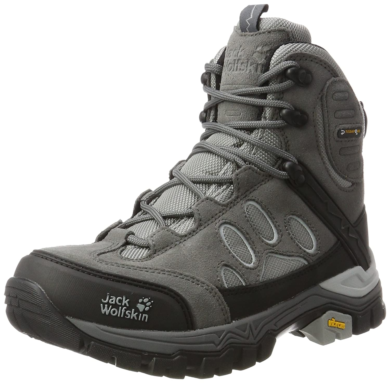 Jack Wolfskin Women's Impulse Texapore O2+ Mid W Hiking Boot B00TUQDURU 10 D US|Tarmac Grey