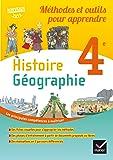 Méthodes et outils pour apprendre - Histoire-Géographie 4e Éd. 2017 - Cahier élève