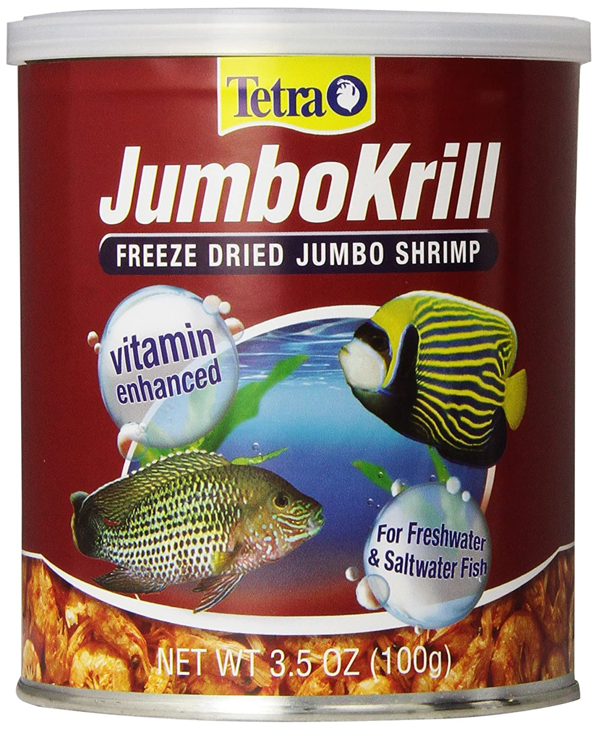 B00025K0YE Tetra JumboKrill Freeze Dired Jumbo Shrimp, Vitamin Enhanced 81mZXimariL