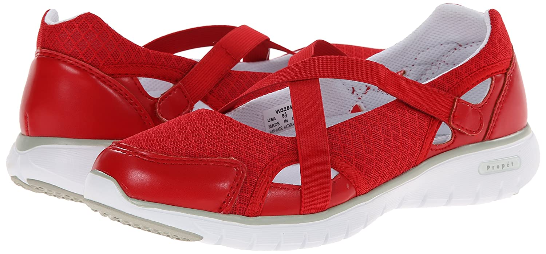 Propet Women's Travellite MJ 2E Walking Shoe B00MUBB4AM 7.5 2E MJ US Red 28046f