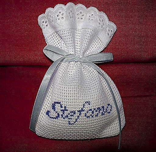 Popolare Crociedelizie, Stock 100 sacchetti bomboniere portaconfetti  PE74