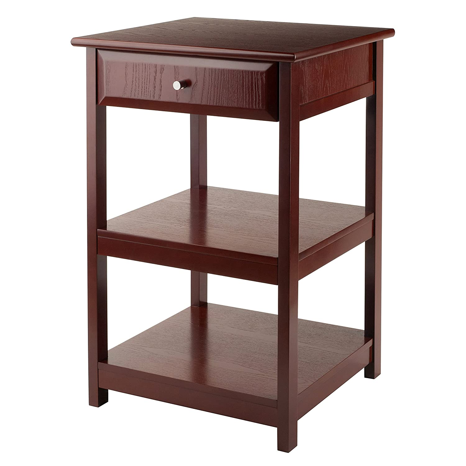 Winsome Wood Delta Printer Table, Walnut Luxury Home 94121-WW