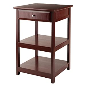 Winsome Wood 94121-WW Delta Home Office, Walnut