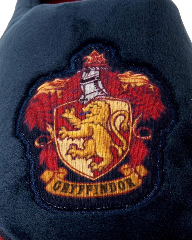 MENS OFFICIAL HARRY POTTER GRYFFINDOR NOVELTY COMFY SLIP ON SLIPPERS MULES SIZE
