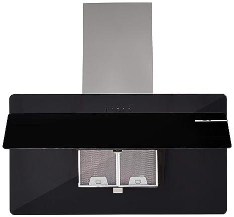 Bosch 90cm 800 m3/hr Chimney (DWK098G60I, 1 Cassette Filter, Touch Control, Black)