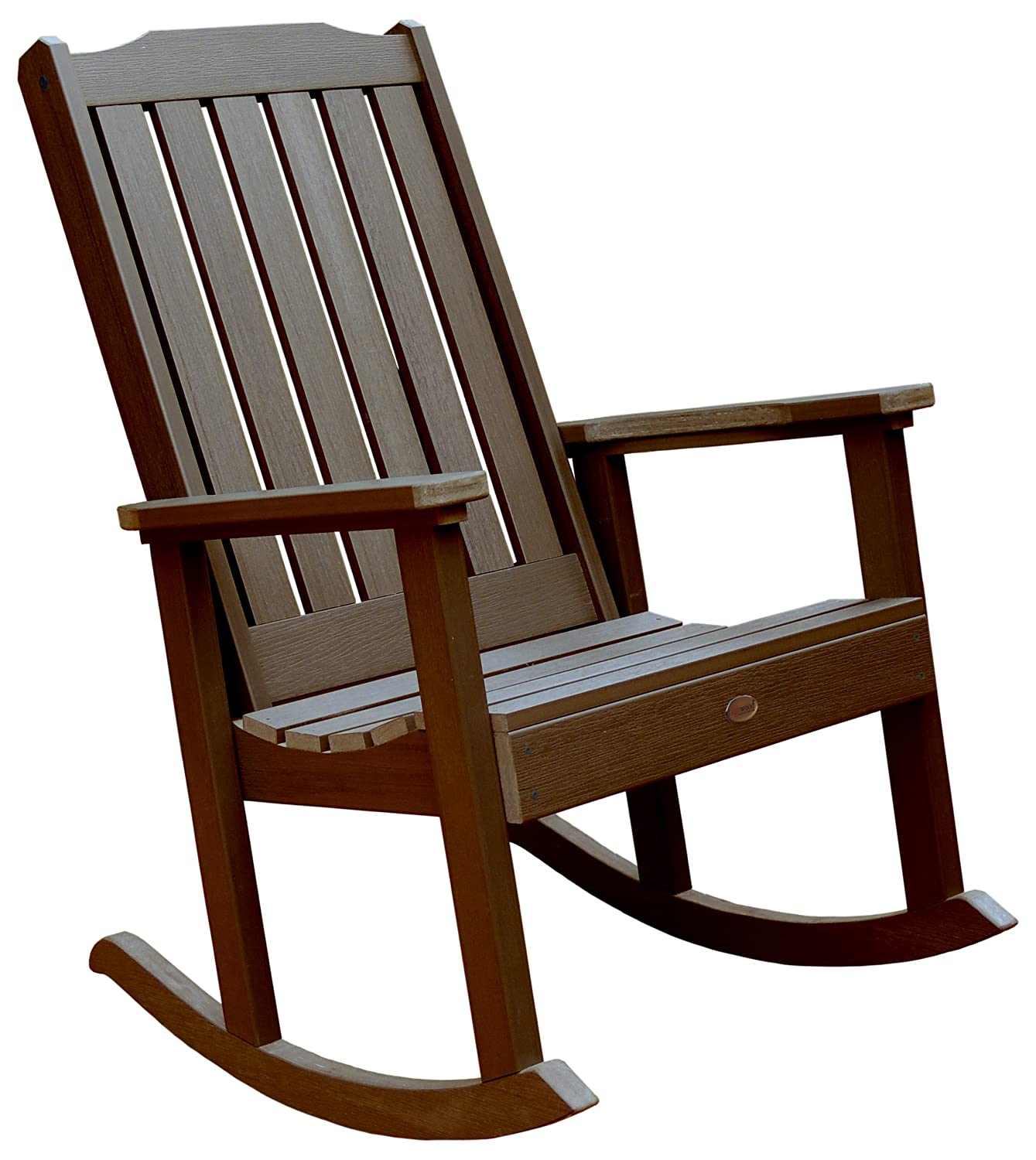 Amazon Highwood Lehigh Rocking Chair Weathered Acorn