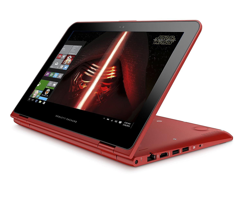 PC portatil HP Pavilion x360 11-k101ns, Rojo