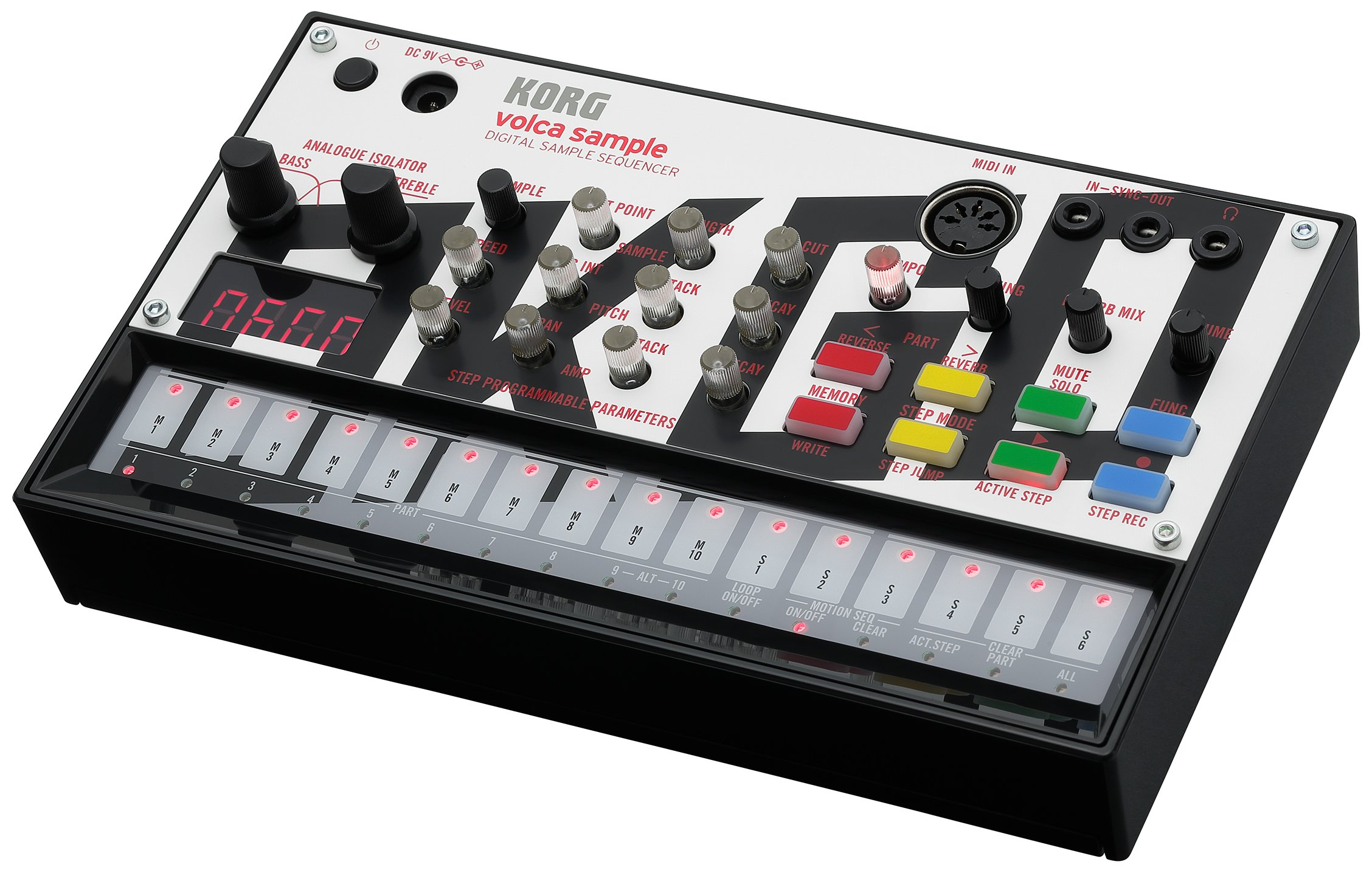 Korg VOLCAOKGO Limited Edition Version Volca Sample with Content & Panel Graphic (Created by OKGO) by Korg (Image #2)